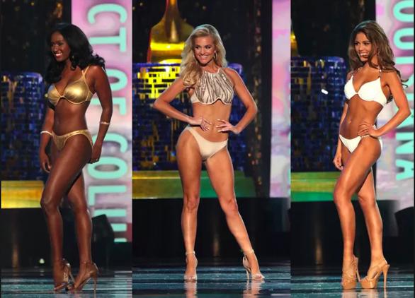 Miss America - Hoa hậu Mỹ từ 2019 sẽ bỏ phần thi áo tắm - Ảnh. Thí sinh  Miss America 2018 trong trang phục bikini 55b439bdbe