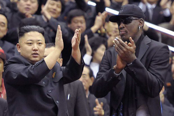 Dennis Rodman sẽ tới Singapore gặp 'bạn thân' Kim Jong Un - Ảnh 1.