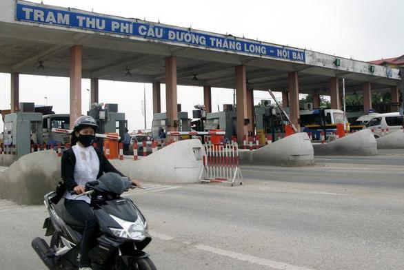 Hà Nội kiến nghị bỏ trạm thu phí Bắc Thăng Long - Nội Bài - Ảnh 1.