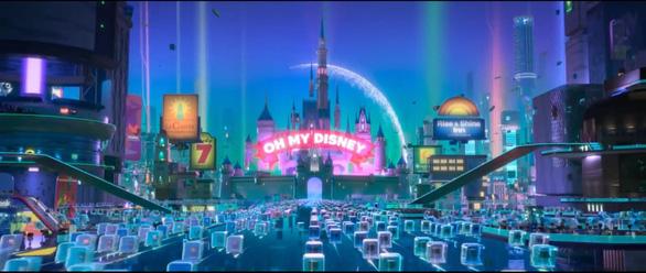 Wreck-It-Ralph 2 và sự trưng hàng hoành tráng của nhà Disney - Ảnh 3.