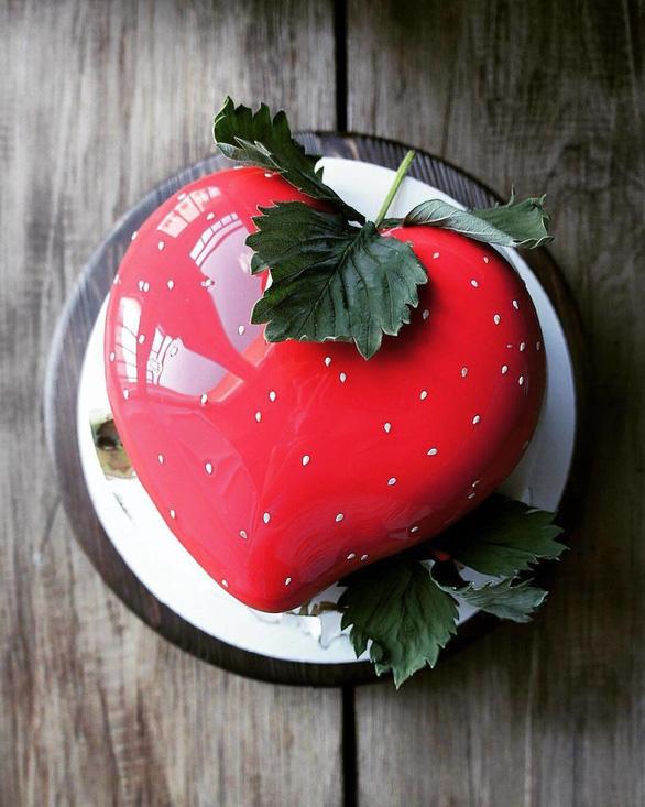 Những chiếc bánh ngọt đẹp không nỡ ăn của mỹ nhân Nga - Ảnh 8.
