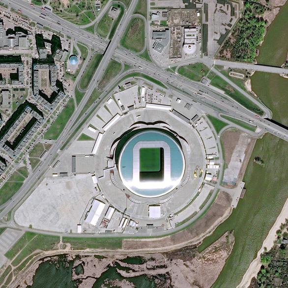 Ngắm các sân vận động World Cup 2018 từ trên cao - Ảnh 12.