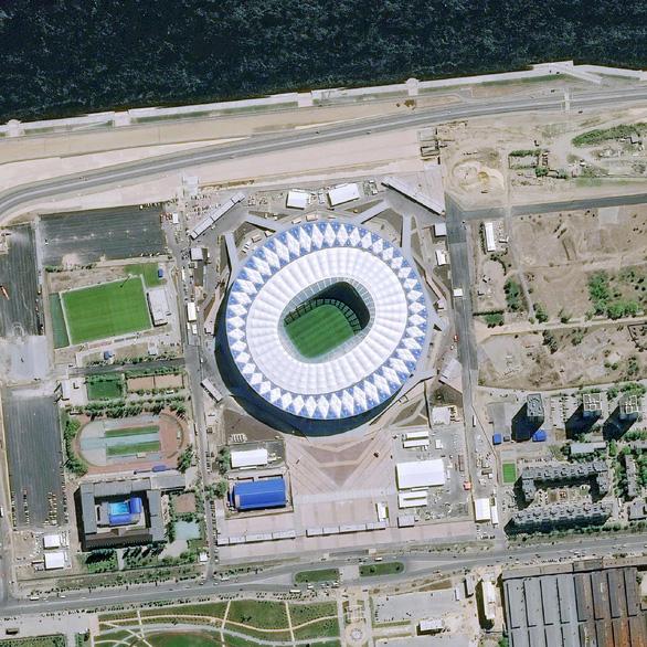 Ngắm các sân vận động World Cup 2018 từ trên cao - Ảnh 2.