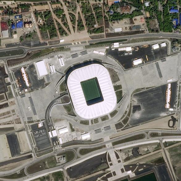 Ngắm các sân vận động World Cup 2018 từ trên cao - Ảnh 3.