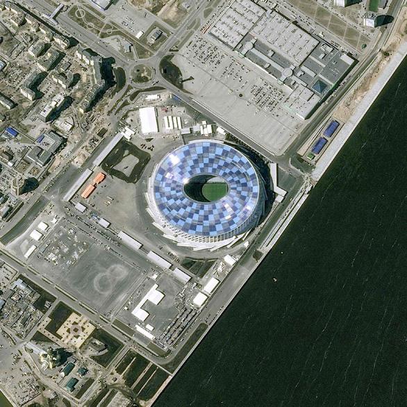 Ngắm các sân vận động World Cup 2018 từ trên cao - Ảnh 6.