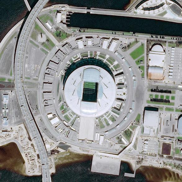 Ngắm các sân vận động World Cup 2018 từ trên cao - Ảnh 7.