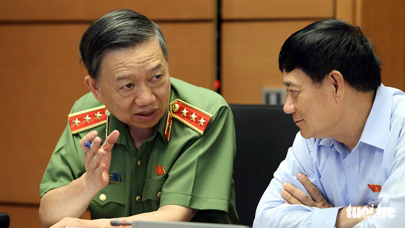 Bộ trưởng Tô Lâm: Không thể có hai nhóm công an - Ảnh 1.