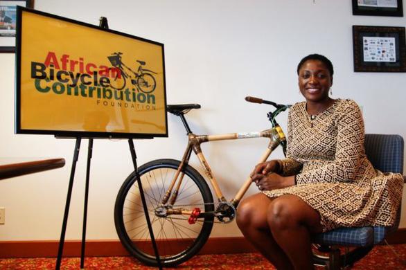 Nữ doanh nhân 8X sản xuất xe đạp từ tre - Ảnh 1.