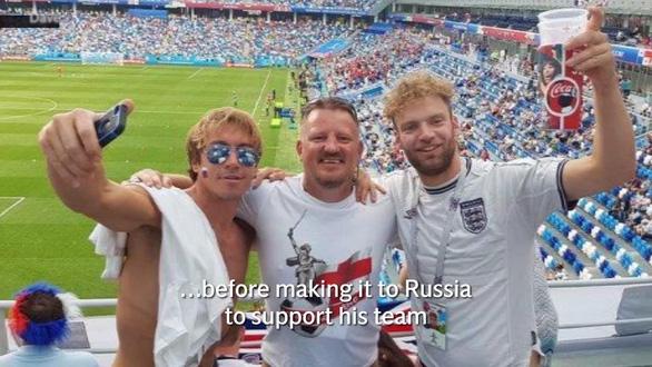 Cựu binh 48 tuổi và hành trình đi bộ 5 tháng tới Nga xem World Cup - Ảnh 1.
