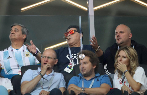 Maradona và cảm xúc của cậu bé vàng suốt hành trình World Cup - Ảnh 1.