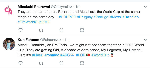 Thế giới xẻ nửa trong ngày Messi gọi Ronaldo về nước - Ảnh 1.