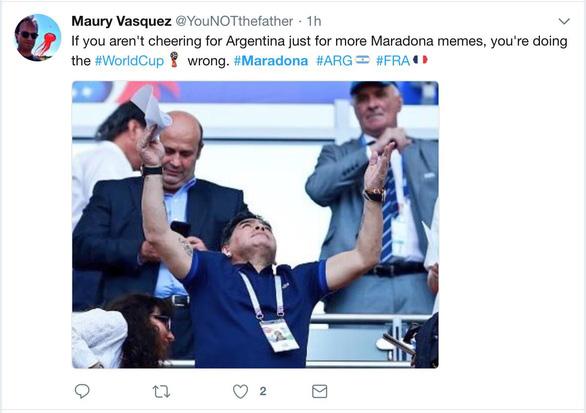 Maradona và cảm xúc của cậu bé vàng suốt hành trình World Cup - Ảnh 11.
