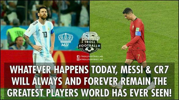 Thế giới xẻ nửa trong ngày Messi gọi Ronaldo về nước - Ảnh 3.