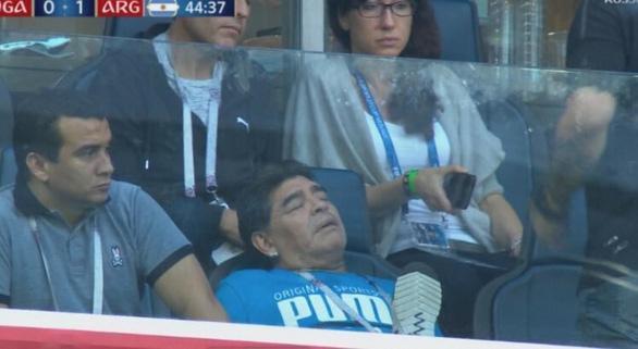 Maradona và cảm xúc của cậu bé vàng suốt hành trình World Cup - Ảnh 4.