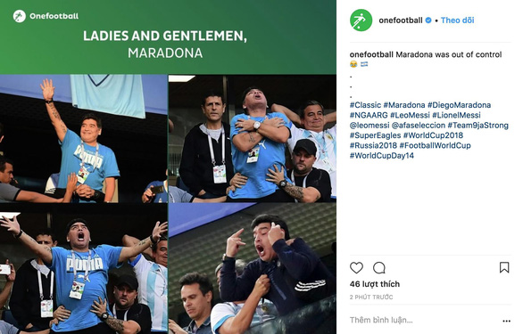 Maradona và cảm xúc của cậu bé vàng suốt hành trình World Cup - Ảnh 5.