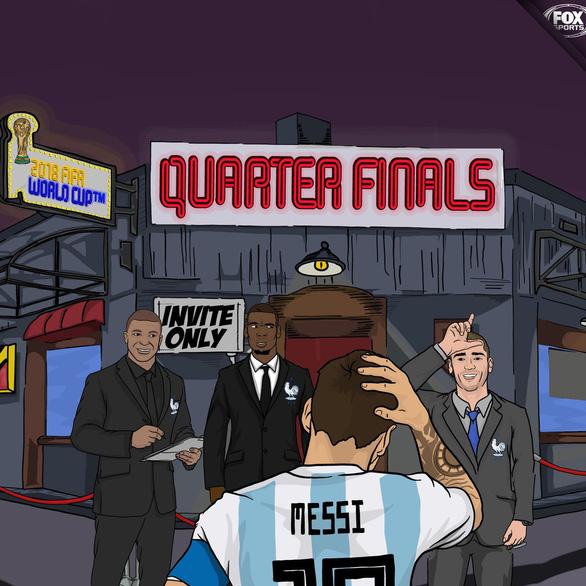 Messi đen đủi ở World Cup phải chăng là điềm xui được báo trước? - Ảnh 10.