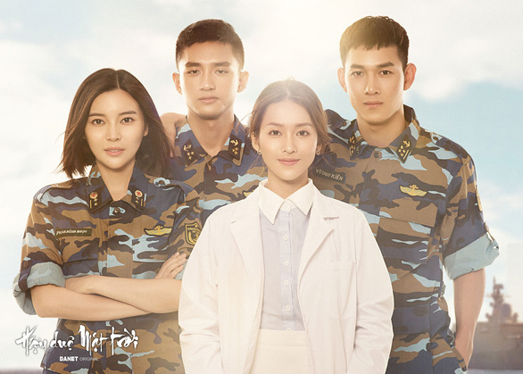 Khả Ngân, Song Luân đóng Hậu duệ mặt trời phiên bản Việt - Ảnh 1.