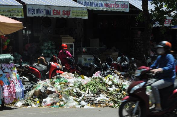 Hỏa tốc xử lý cả nghìn tấn rác ùn ứ ở TP Quảng Ngãi - Ảnh 3.