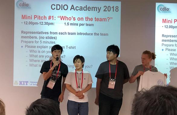 Sinh viên ĐH Duy Tân trong Đội Vô địch CDIO Academy 2018, Nhật Bản - Ảnh 2.
