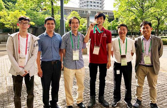 Sinh viên ĐH Duy Tân trong Đội Vô địch CDIO Academy 2018, Nhật Bản - Ảnh 1.