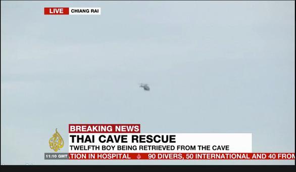 Chiến dịch giải cứu đội bóng Thái Lan thành công mỹ mãn, cứu được 13 người - Ảnh 4.