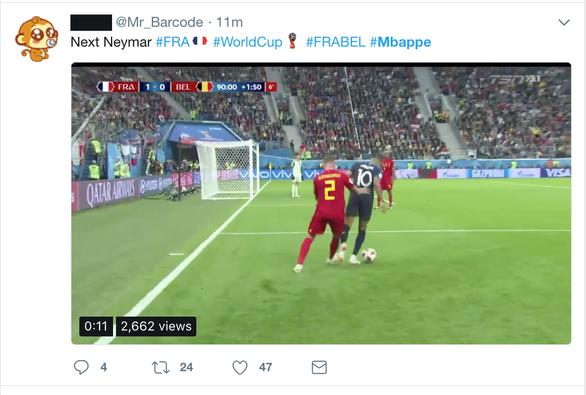 Pháp thắng, Mbappe khiến dân mạng tức vì câu giờ - Ảnh 4.