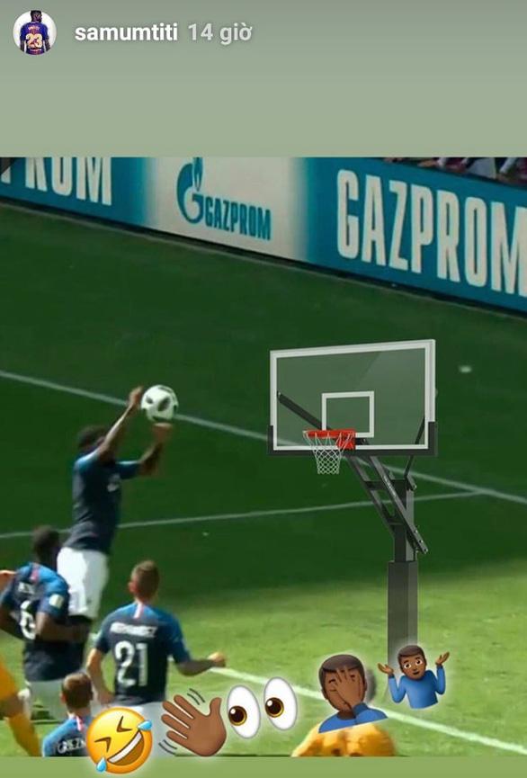 Umtiti: từ pha chơi bóng rổ đến điệu lắc vòng ba gây sốt - Ảnh 5.
