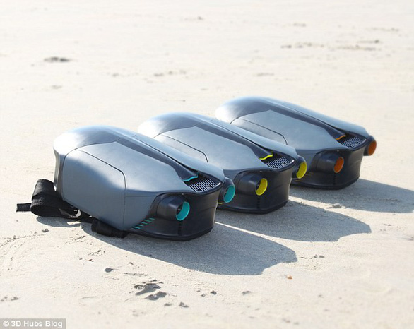 Sinh viên phát minh ba lô phản lực dưới nước, giúp bơi 12km/h - Ảnh 4.