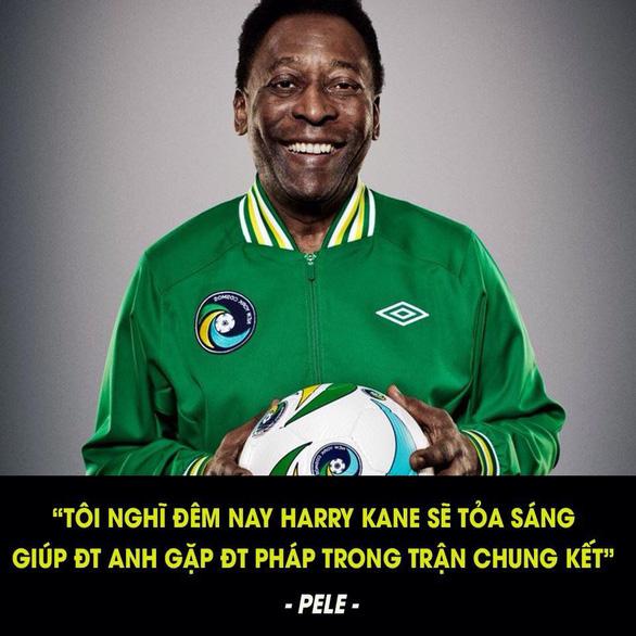 Sự thật về những dự đoán ám quẻ của Pele tại World Cup 2018 - Ảnh 2.