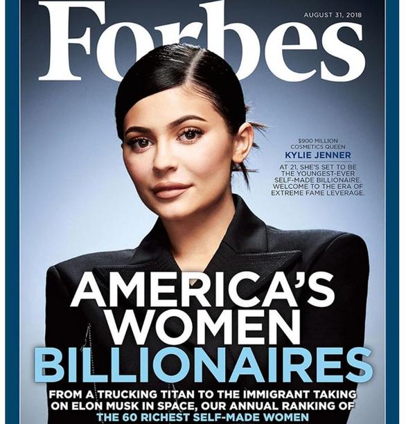 Kylie Jenner sắp trở thành nữ tỉ phú tự thân trẻ nhất thế giới - Ảnh 1.