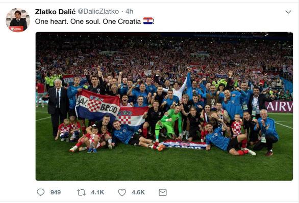 Cả nước Croatia ăn mừng, Thủ tướng Anh tự hào về Tam sư - Ảnh 9.