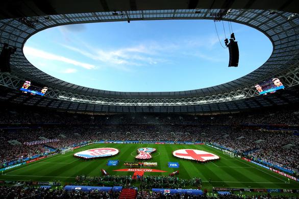 Những hình ảnh ấn tượng nhất tại cuộc so tài Anh - Croatia - Ảnh 9.