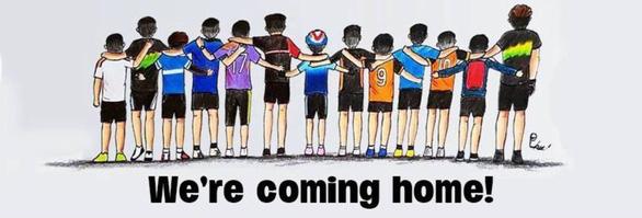 Tranh giải cứu đội bóng Thái Lan khiến dân mạng say mê - Ảnh 11.