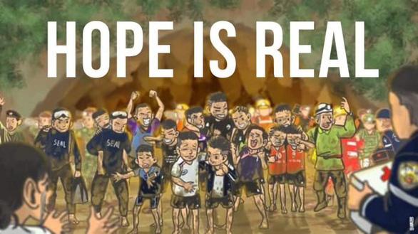 Tranh giải cứu đội bóng Thái Lan khiến dân mạng say mê - Ảnh 4.