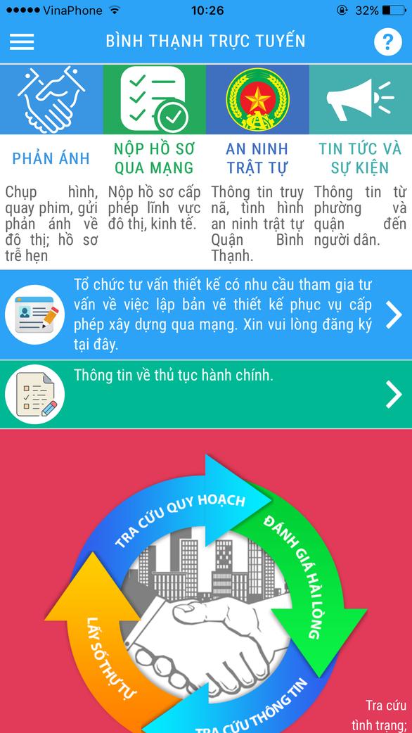 Làm thủ tục xin phép xây dựng qua smartphone - Ảnh 2.