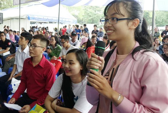 Ngày hội tư vấn xét tuyển đại học, cao đẳng tại TP.HCM - Ảnh 1.