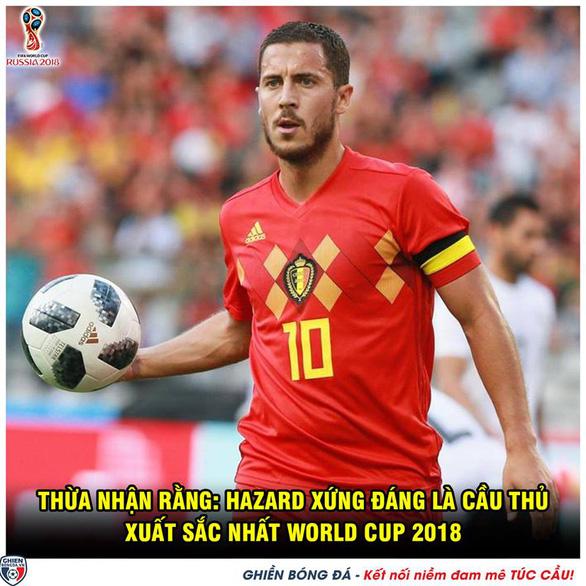 Bỉ thắng xứng đáng, dân mạng chẳng buồn tiếc nuối tuyển Anh - Ảnh 6.
