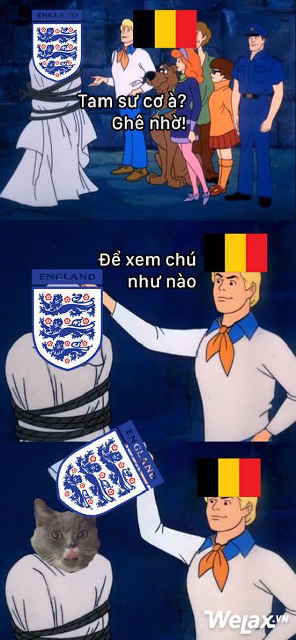 Bỉ thắng xứng đáng, dân mạng chẳng buồn tiếc nuối tuyển Anh - Ảnh 3.