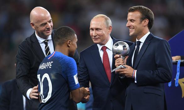 Ông Trump chúc mừng Pháp vô địch World Cup 2018 - Ảnh 1.