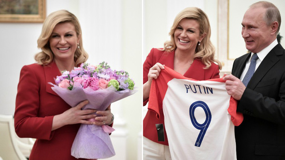 Một mùa World Cup quá đỉnh của bà trùm sân cỏ - nữ Tổng thống Croatia - Ảnh 2.