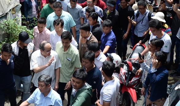 Bí thư Nguyễn Thiện Nhân thăm các hộ dân Thủ Thiêm - Ảnh 6.