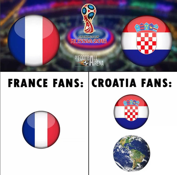 Croatia là đội truyền cảm hứng nhất World Cup 2018 - Ảnh 1.