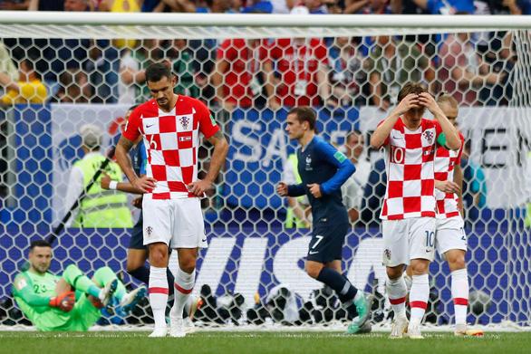 Mưa bàn thắng chung kết World Cup do thủ môn lười biếng của Croatia - Ảnh 5.