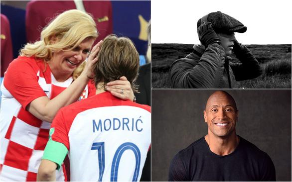 16-7: Bức ảnh Tổng thống Croatia lau nước mắt cho Modric gây xúc động mạnh - Ảnh 1.
