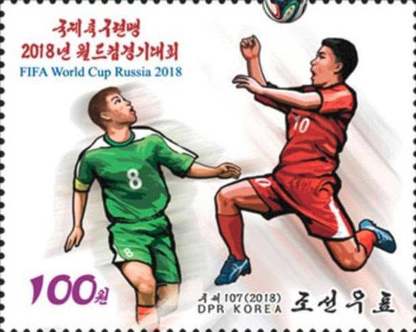 Triều Tiên phát hành bộ tem World Cup 2018 giá 2 tô phở 1 con tem - Ảnh 7.