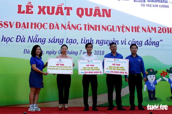 Sinh viên Đà Nẵng lên rừng, ra đảo, làm tình nguyện ở Lào - Ảnh 3.