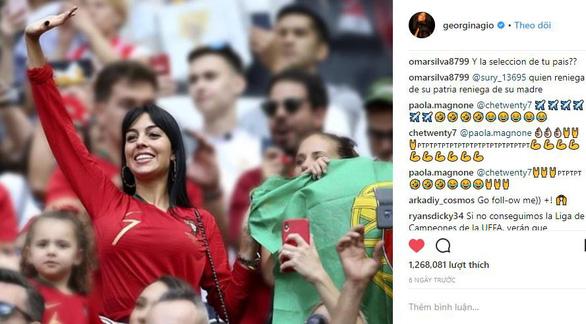 Bạn gái Ronaldo bị trút giận sau thất bại của CR7 ở World Cup - Ảnh 2.