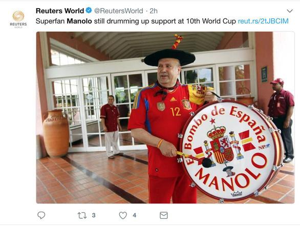 Manolo - cầu thủ thứ 12 của Tây Ban Nha suốt 36 năm - Ảnh 6.