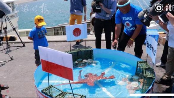 Đoán trúng 3 trận có tuyển Nhật ở World Cup, tiên tri bạch tuộc vẫn bị ăn thịt! - Ảnh 1.