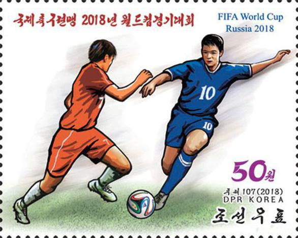 Triều Tiên phát hành bộ tem World Cup 2018 giá 2 tô phở 1 con tem - Ảnh 5.